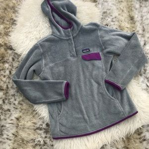 Women's Patagonia re-tool pullover jacket